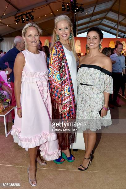 Heather Mnuchin Lisa Klein and Shoshanna Lonstein Gruss attend Sixth Annual Hamptons Paddle and Party for Pink Benefitting the Breast Cancer Research...