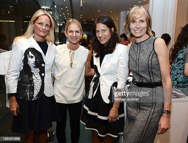 Heather MnuchinCrystal Lourd Katherine Ross and Willow Bay attend the Director's Circle Celebration of WEAR LACMA Inaugural Designs by Johnson Hartig...