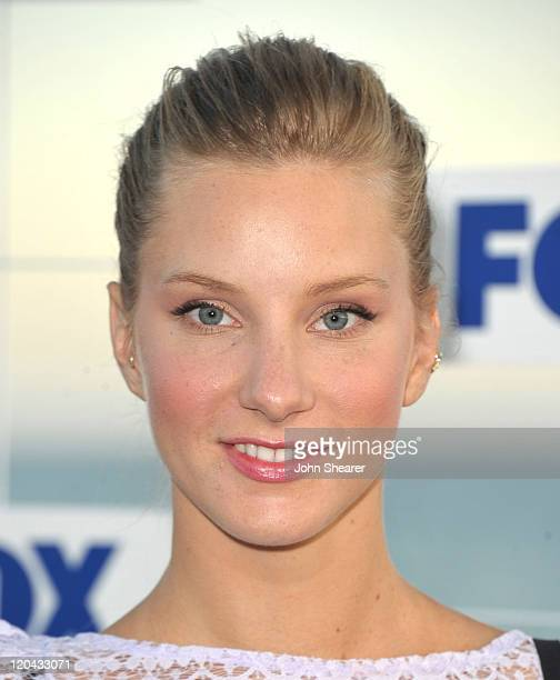 Heather Morris attends the Fox All Star Party 2011 at Gladstone's Malibu on August 5 2011 in Malibu California