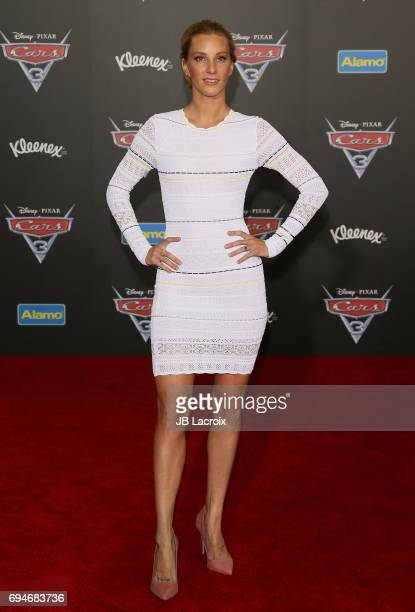Heather Morris attends the premiere of Disney and Pixar's 'Cars 3' on June 10 2017 in Anaheim California