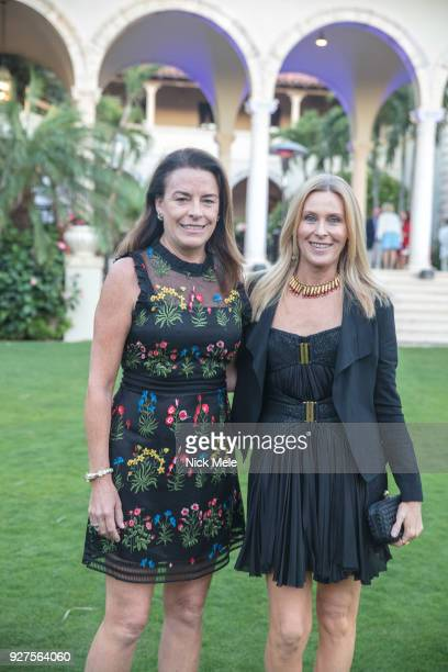 Heather Murray and Kelly Cushing attend AVENUE Celebrates the Fresh Faces of Palm Beach and its ReVamped AList at Private Residence on March 3 2018...