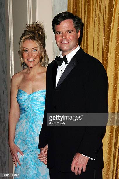 Heather Murren and Jim Murren during The Larry King Cardiac Foundation Gala at The Regent Beverly Wilshire Hotel in Beverly Hills, California, United...