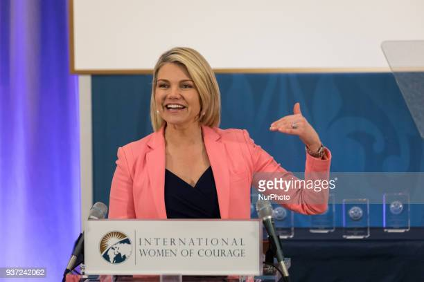 Heather Nauert Acting Under Secretary for Public Diplomacy and Public Affairs amp State Dept Spokesperson hosted the annual International Women of...