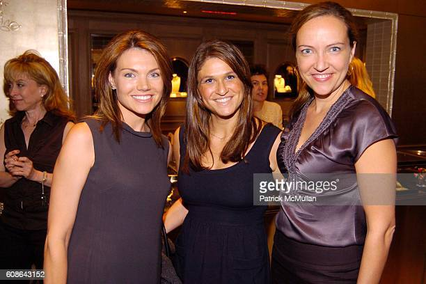 Heather Nauert Andrea Ross and Vanessa Novak attend Van Cleef Arpels Nicholas Luchsinger and Susan FalesHill Invite You to Celebrate Their...