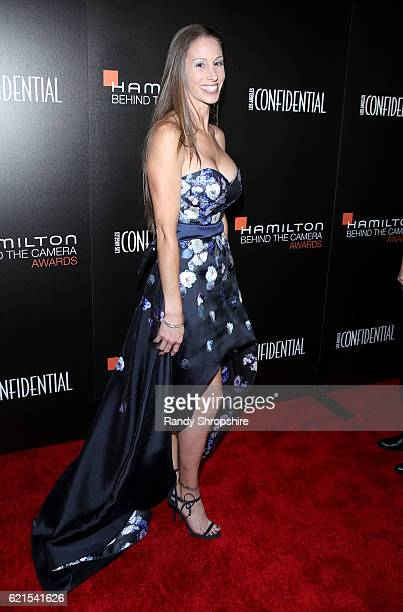 Heather O'Connell attends the Hamilton Behind The Camera Awards presented by Los Angeles Confidential Magazine at Exchange LA on November 6 2016 in...