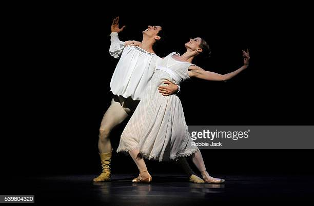 Heather Ogden as Juliet and Guillaume Cote as Romeo in the National Ballet of Canada's production of Alexei Ratmansky's Romeo and Juliet at Sadler's...