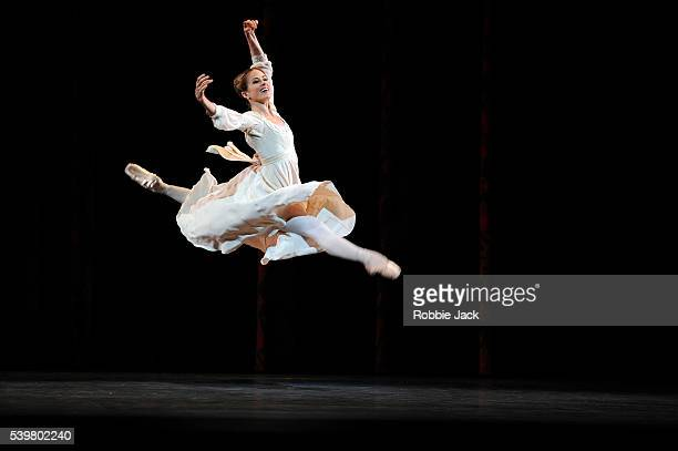 Heather Ogden as Juliet in the National Ballet of Canada's production of Alexei Ratmansky's Romeo and Juliet at Sadler's Wells in London