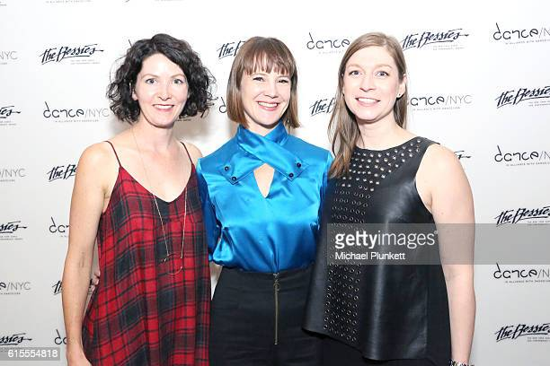 Heather Olson Ivy Baldwin and Megan Springer attend The 32nd Annual New York Dance and Performance Awards The Bessies at BAM Howard Gilman Opera...