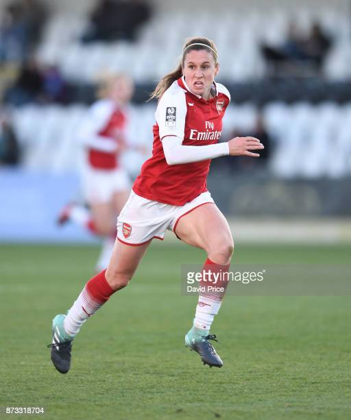 Heather O'Reilly of Arsenal during the WSL match between Arsenal Women and Sunderland on November 12 2017 in Borehamwood United Kingdom