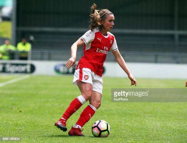 Heather O'Reilly of Arsenal Ladies during Women's Super League 1 Spring Series match between Arsenal Ladies against Birmingham City Ladies at The...