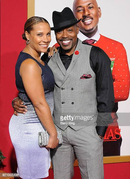 Heather Hayslett and producer Will Packer attend the premiere of Universal's 'Almost Christmas' at Regency Village Theatre on November 3 2016 in...