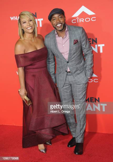 Heather Hayslett and Will Packer arrive for Paramount Pictures' What Men Want Premiere held at Regency Village Theatre on January 28 2019 in Westwood...