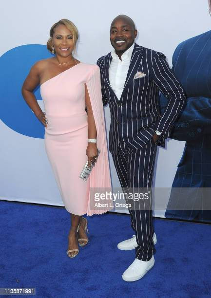 Heather Hayslett and Will Packer arrive for The Premiere Of Universal Pictures Little held at Regency Village Theatre on April 8 2019 in Westwood...