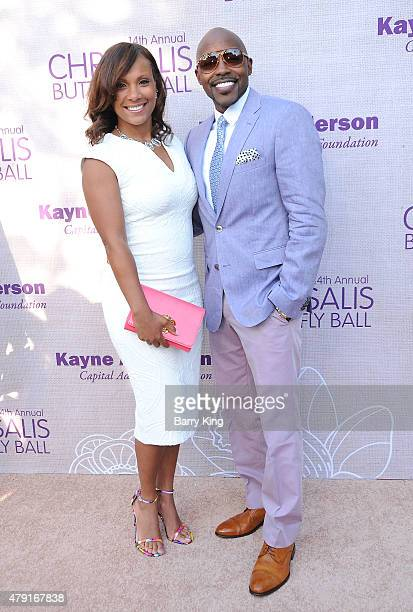 Heather Hayslett and Will Packer attend the 14th annual Chrysalis Butterfly Ball sponsored by Audi Kayne Anderson Lauren B Beauty and Z Gallerie on...