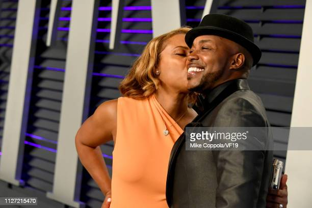 Heather Hayslett and Will Packer attend the 2019 Vanity Fair Oscar Party hosted by Radhika Jones at Wallis Annenberg Center for the Performing Arts...