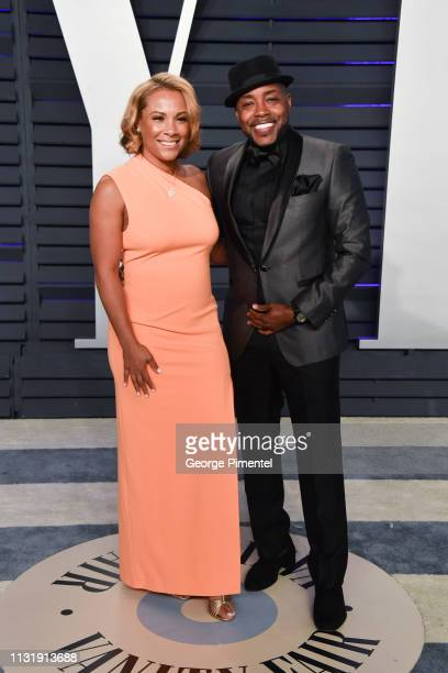 Heather Packer and Will Packer attend the 2019 Vanity Fair Oscar Party hosted by Radhika Jones at Wallis Annenberg Center for the Performing Arts on...