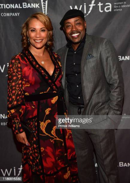 Heather Hayslett and Will Packer attend the 2019 WIFTA Gala at Four Seasons Hotel on November 9 2019 in Atlanta Georgia