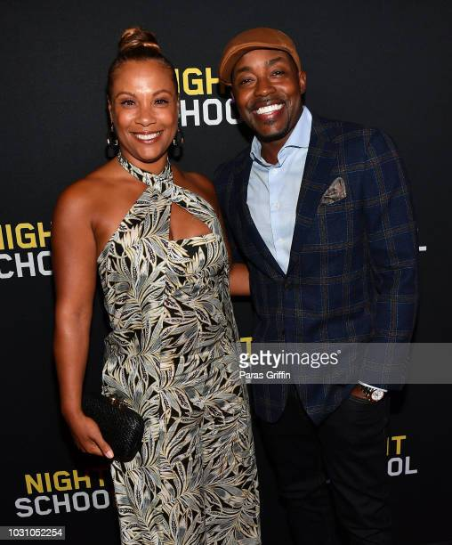 Heather Hayslett Packer and Will Packer attend Night School Atlanta Red Carpet Screening at Regal Atlantic Station on September 10 2018 in Atlanta...