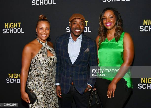 Heather Hayslett Packer Will Packer and Shayla Cowan attend Night School Atlanta Red Carpet Screening at Regal Atlantic Station on September 10 2018...