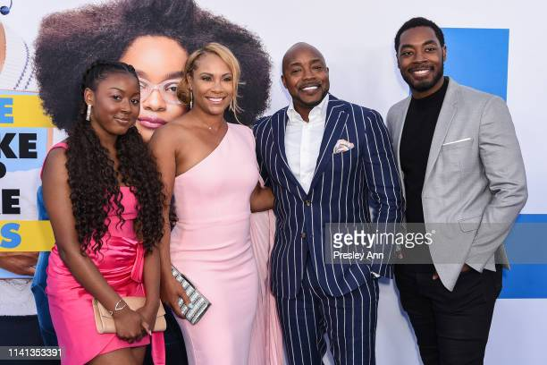 Heather Hayslett Will Packer and family attend The Premiere Of Universal Pictures Little at Regency Village Theatre on April 08 2019 in Westwood...