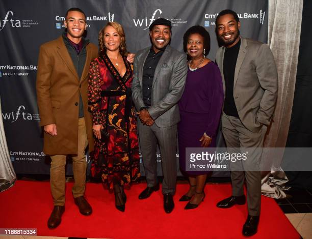 Heather Hayslett Will Packer and Guests attend the 2019 WIFTA Gala at Four Seasons Hotel on November 9 2019 in Atlanta Georgia