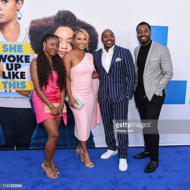 Heather Hayslett Will Packer and their family attend The Premiere Of Universal Pictures Little at Regency Village Theatre on April 08 2019 in...