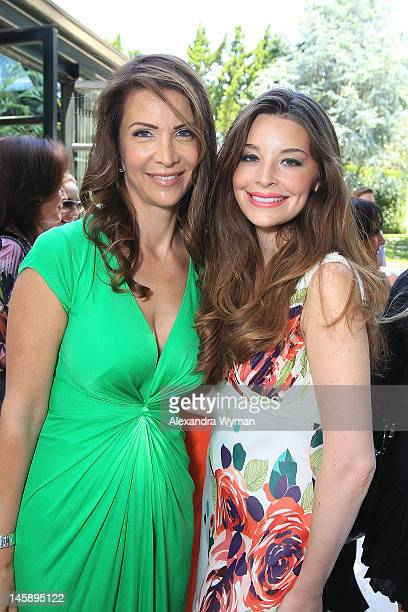 Heather Porter and Brianna Deutsch at her book signing of Body Back held at a Private Residence on June 7 2012 in Beverly Hills California