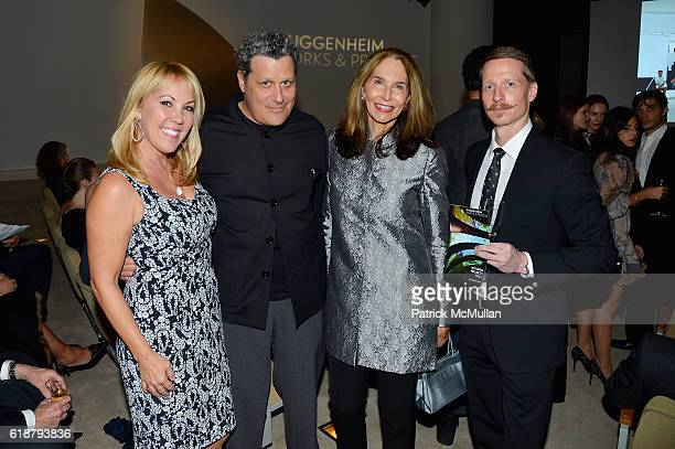 Heather Randall Isaac Mizrahi Stephanie French and Ethan Stiefel attend the Works Process Rotunda Projects Gala at the Guggenheim at Guggenheim...