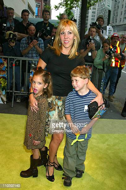 Heather Randall wife of Tony Randall with their daughter Julia and son Jefferson