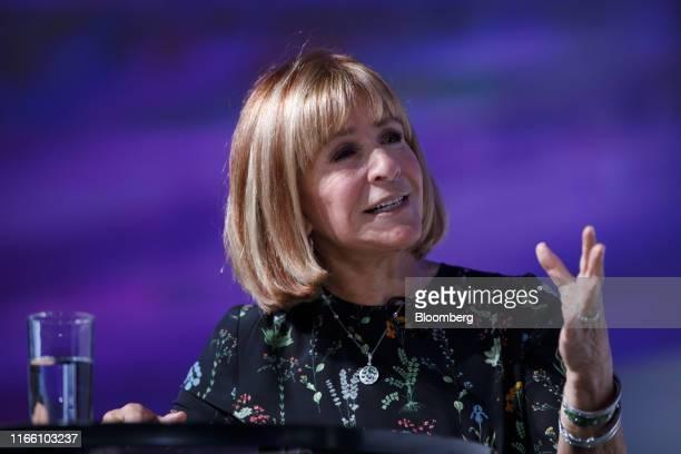 Heather Reisman founder and chief executive officer of Indigo Books Music Inc speaks during The International Economic Forum of the Americas Toronto...