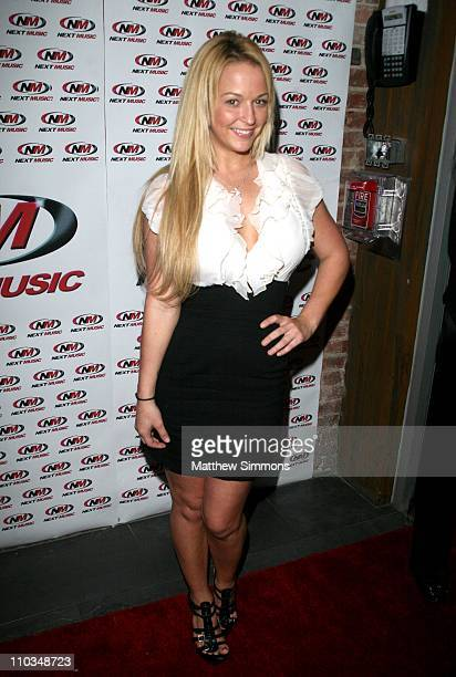 Heather Rene Smith attends the Kaylah Marin performance at Mickey's on October 19 2009 in Los Angeles California