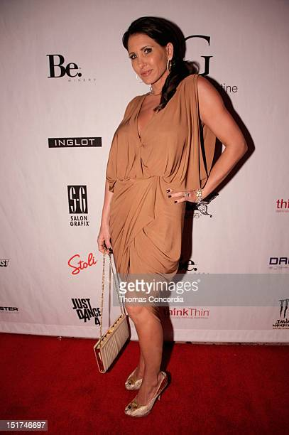 Heather Robinson attends the STYLE360 presents Gretchen Christine Collection by Gretchen Rossi Preview Party at Kiss Fly on September 10 2012 in New...