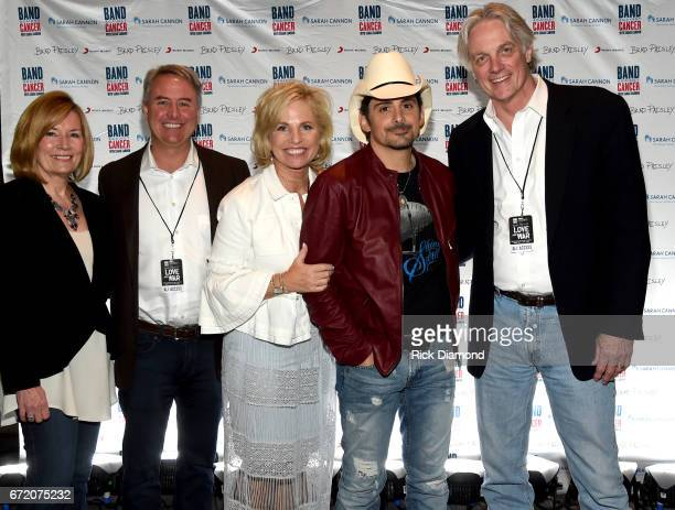 Heather Rohan President TriStar Health Dr Jeff Patton CEO Tennessee Oncology Dee Anna Smith CEO Sarah Cannon Singer/Songwriter Brad Paisley Dr Fred...