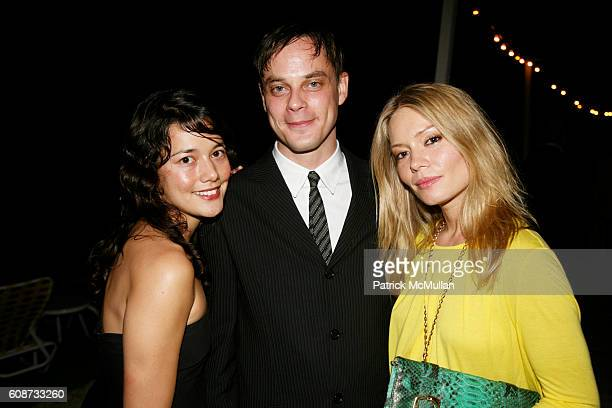 Heather Seccia Chris Ambrose and Brooke Geahan attend TOKION Magazine Dinner in Honor of NADA at The Standard Hotel on December 6 2007 in Miami Beach...