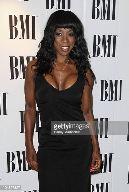 Heather Small arrives at BMI Awards at The Dorchester on October 5 2010 in London England