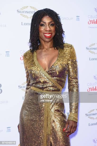 Heather Small attends The Caudwell Children Butterfly Ball at Grosvenor House on June 14 2018 in London England