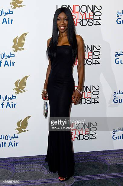 Heather Small attends The London Lifestyle Awards at the Troxy on October 8 2014 in London England