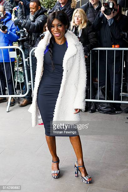 Heather Small attends the TRIC Awards at Grosvenor House Hotel at The Grosvenor House Hotel on March 8 2016 in London England