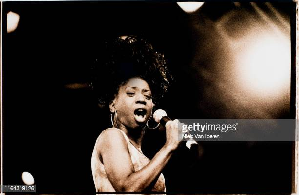 Heather Small M People performing on stage Netherlands 1994