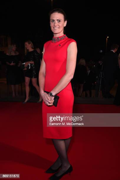 Heather Stanning attends the Team GB Ball at Victoria and Albert Museum on November 1 2017 in London England