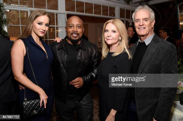 Heather Taras Daymond John Susan Gersh and David Gersh attend the 2017 Gersh Emmy Party presented by Tequila Don Julio 1942 on September 15 2017 in...