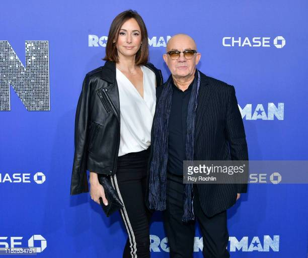 Heather Taupin and Bernie Taupin attend the US Premiere of Rocketman at Alice Tully Hall on May 29 2019 in New York New York