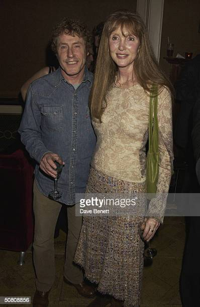 Heather Taylor and her husband Roger Daltreyat a party thrown by Paul McKenna to celebrate his book 'Change Your Life In 7 Days' staying at the top...