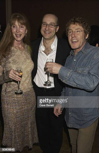 Heather Taylor with husband Roger Daltrey and Paul McKenna at his party to celebrate his book 'Change Your Life In 7 Days' staying at the top held at...