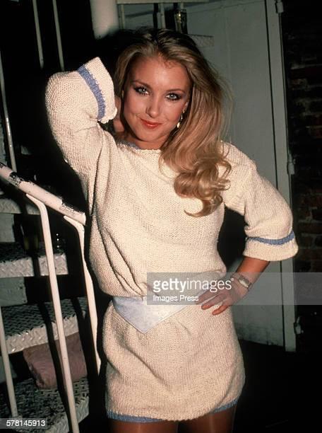 Heather Thomas circa 1982 in New York City