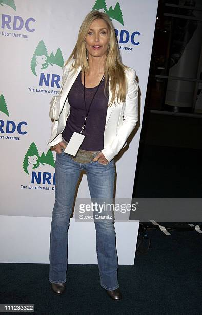 Heather Thomas during NRDC Presents The Rolling Stones in a Free Concert to Fight Global Warming Arrivals at Staples Center in Los Angeles California...