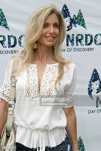 Heather Thomas during NRDC's Day of Discovery May 21 2006 at Wadsworth Theater Grounds in Brentwood California United States