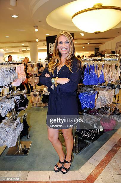 Heather Thomson attends Fashion Night Out at Lord Taylor on September 8 2011 in New York City
