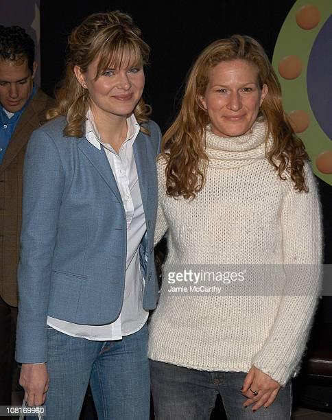 Heather Tom and Ana Gasteyer during Teletubbies Short Debuts with Special Guest Mr Clean and Noonoo at Loews' Real Moms in New York City at Loews'...