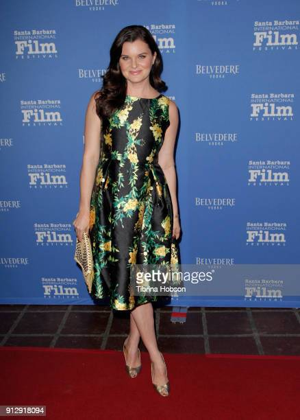 Heather Tom attends the 33rd annual Santa Barbara International Film Festival opening night premiere of 'The Public' at Arlington Theatre on January...